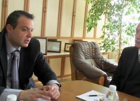 Игор Илингин гостува на губернатора