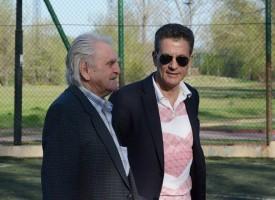 Кметът Тодор Попов откри работническо по футбол