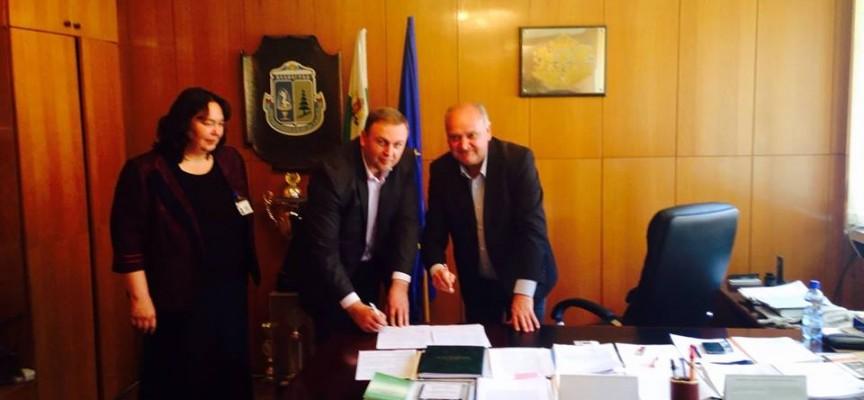Сърница и Велинград подписаха разделителен протокол