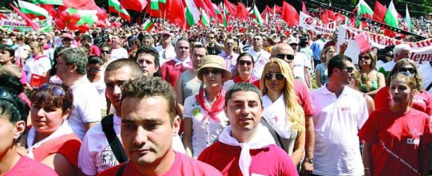 Утре: Янаки Стоилов повежда шествие за 1 май
