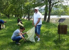Събрахме 139 тона отпадъци в областта