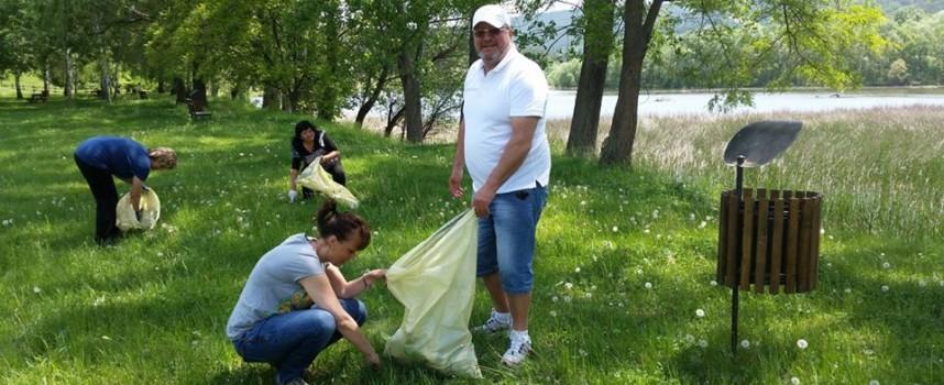 """Лесичово се включи в кампанията """" Да изчистим България заедно"""""""