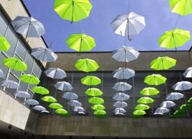 """""""Арт идея, арт алея"""": Чадъри в Лапидариума го превръщат в абстракция"""