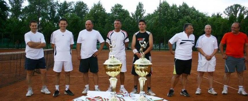 Млад архитект стана първенец на тенис