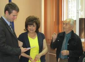 Зам.губернаторите се срещнаха с учители пенсионери