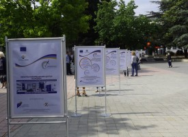 Пазарджик отбеляза Деня на Европа с изложба и танци