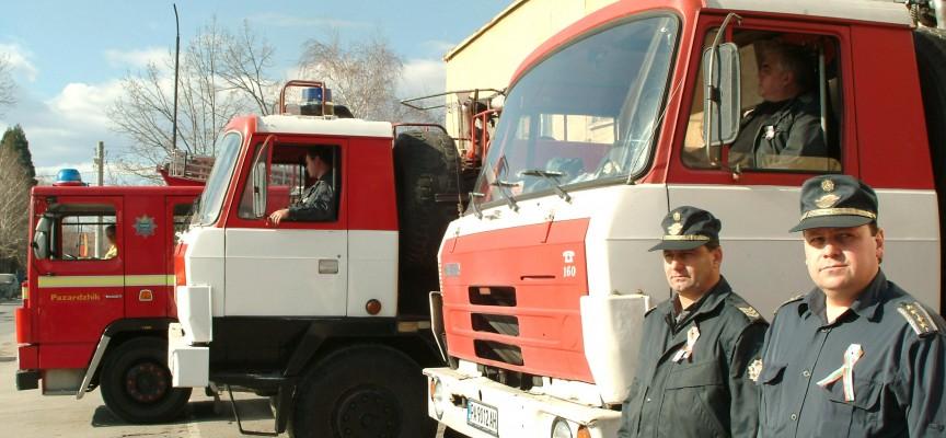 Огнеборци спасиха припаднала на 4 етаж жена в Пазарджик