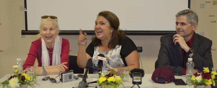 Марта Вачкова: Сякаш баща ми си отиде, за да направи местенце за мен