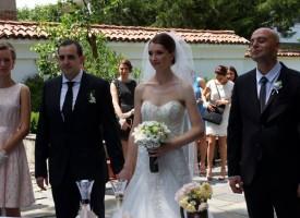Младоженци избраха да се венчаят в къщата на Николаки Христович
