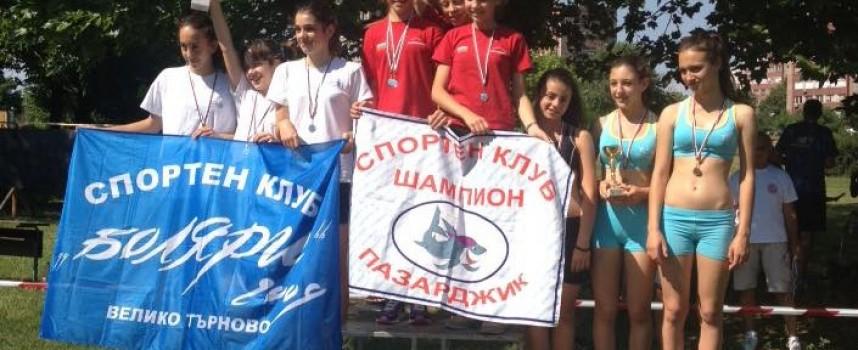 """Момичетата на """"Шампион"""" отново шампионки, злато за Никол Бечева"""