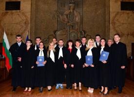 Двама нови съдии в Пещера и Пазарджик