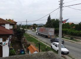 """Бошуля стана магистрала заради катастрофа на """"Тракия"""" /видео/"""