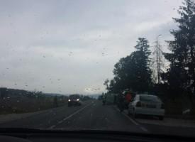 Джип на ЕВН се търкулна по пътя за Велинград /обновена/