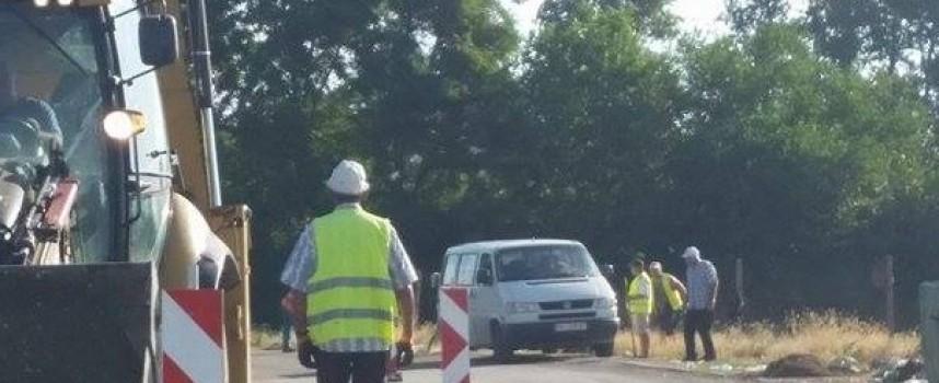 Започна рехабилитацията на пътя Динката-Памидово