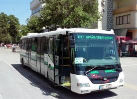 Екоавтобус пътува из града от 3 -ти юли