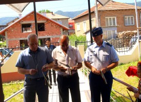 Щатски полковник и кметът на Ракитово откриха днес Център за обучение на семейства