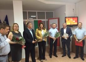 Евродепутатите от БСП откриха офис в Бургас