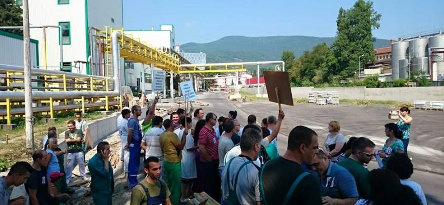 Пещера също се включи в протеста