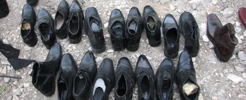 Фирма от Пещера изхвърли обувки извън града
