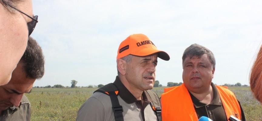 Зам.министър Костов откри ловния сезон в Съединение и изнесе урок в Цигов чарк