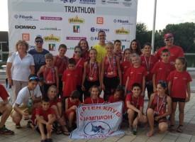 """7 старта и 7 шампиона за СК""""Шампион"""" от Държавното по триатлон"""