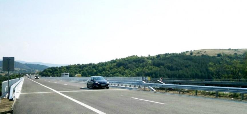 По магистралата: С 20 км./час при виадукта до Вършилата