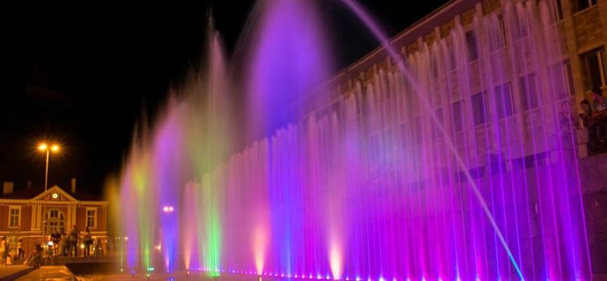 Панагюрище се доближи до Барселона с магически фонтан