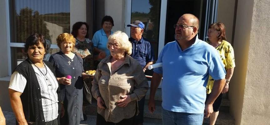 Пенсионерите в Церово вече имат нов клуб