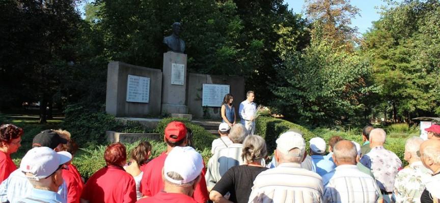 Пазарджишките социалисти се поклониха на гроба на Шаторов