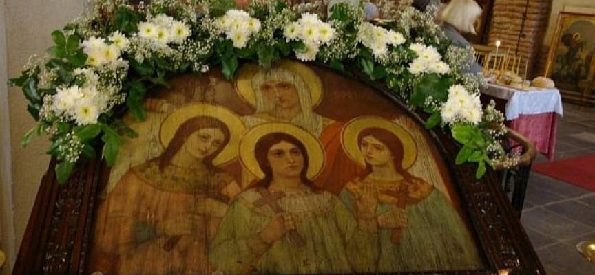 Почитаме Вяра, Надежда, Любов и майка им София