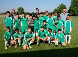 """Сашо Тунчев дойде за първата тренировка на младите от """"Хебър"""""""