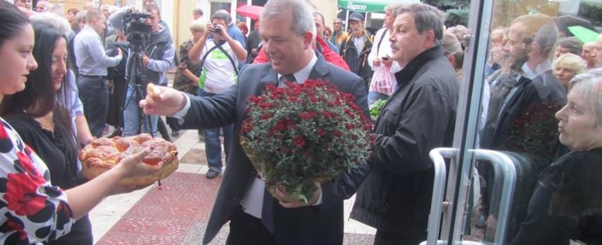 БСП откри предизборния си щаб в Пещера /снимки/