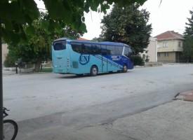 Нови автобуси возят до Лесичово