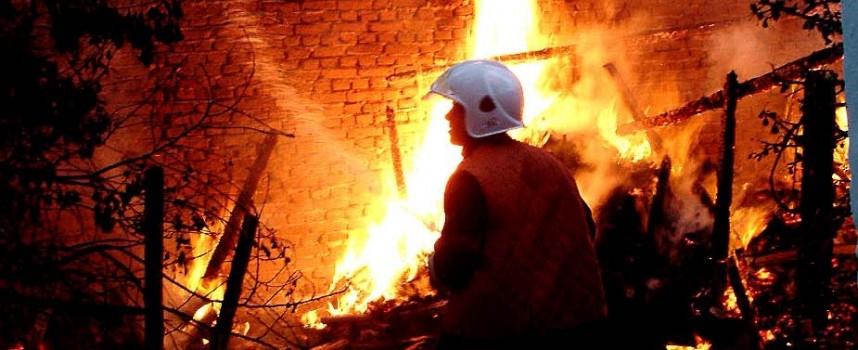 Пожар вилня сутринта на Бъдни вечер в Црънча