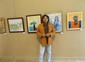 Усмивки…..и вино: Новата изложба на Константин Анастасов във винената столица Брестовица