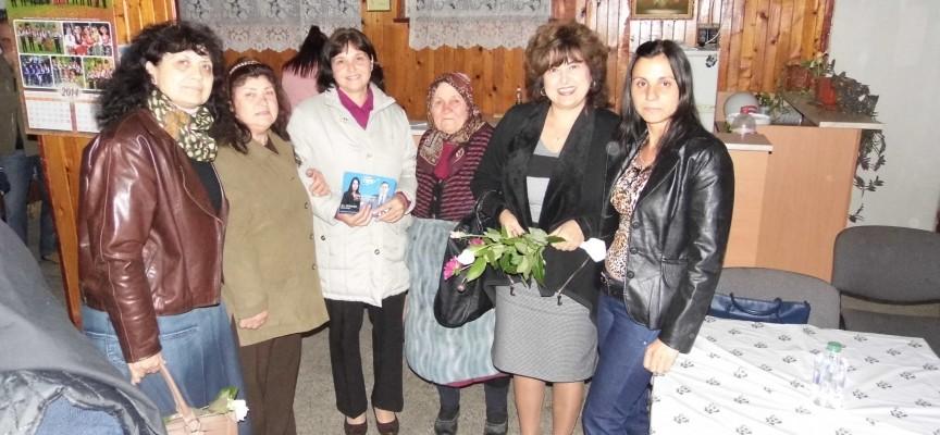 Кандидатите за общински съветници от ГЕРБ се срещнаха с избиратели от Тополи дол и Крали Марко