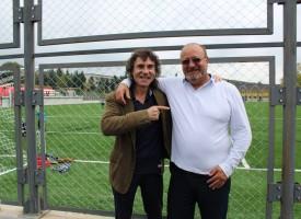 Владо Въргала и инж. Серьожа Лазаров откриха новия стадион на Лесичово