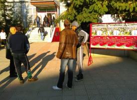 ГЕРБ се жали от Лебанов, от щаба му лепят плакати пред две секции