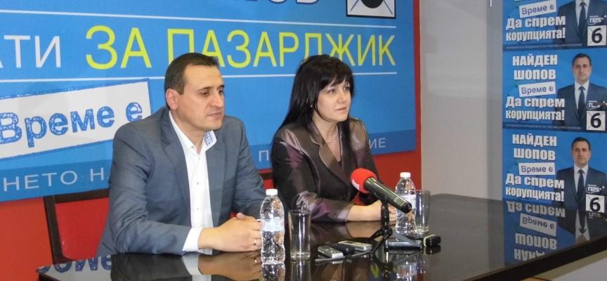 Цвета Караянчева: Имам доверие на Найден, подкрепете го