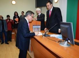 ХАРИ ХАРАЛАМБИЕВ е новоизбраният  председател на Общинския съвет в Пазарджик.