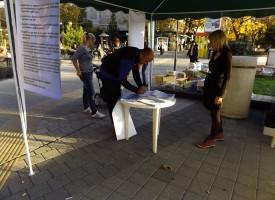 Над 1000 подписа са събрани в областта в подкрепа на референдума на Слави Трифонов