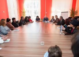 Шефовете на НАПГ се срещнаха с приемни родители в Пазарджик