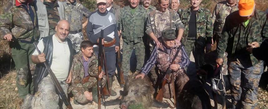 Три глигана към тигана след двудневен лов