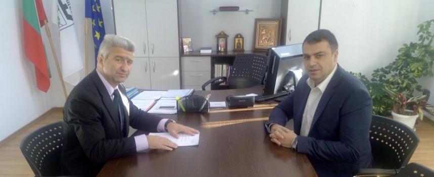 Комисар Йордан Рогачев се срещна с Николай Зайчев