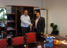 Директорът на полицията се срещна с Марин Рачев
