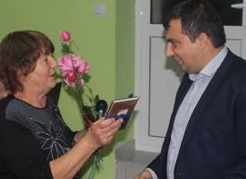 Кметът на Септември уважи рожденици от Ветрен дол и Варвара