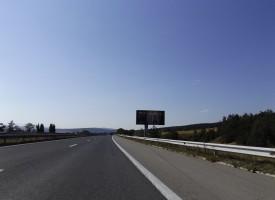 """Възстановиха движението по АМ """"Тракия"""" на 77-ми километър"""