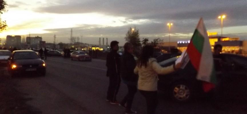 Ден втори: Таксита на протеста срещу винетките