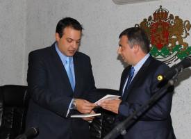 Новият кмет на Септември Марин Рачев положи клетва