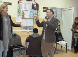 """Кметът на Лесичово поздрави домуващите в """"Св. Петка"""" в Щърково"""